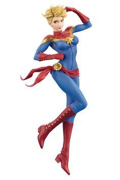 Marvel Captain Marvel Bishoujo Statue