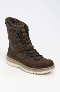 ECCO 'Roxton GTX' Snowboard Boot (Online Only) | $180 | gifts for the sporty guy | mens snowboard boots | athletic | sports | snowboarding | menswear | mens fashion | mens style | wantering http://www.wantering.com/mens-clothing-item/ecco-roxton-gtx-snowboard-boot-online-only/abjqt/