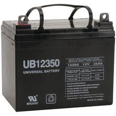 UPG 85980/D5722 Sealed Lead Acid Batteries (12V; 35Ah; UB12350)