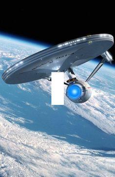 The USS Enterprise sometimes referred to as the Enterprise-A from Star Trek 5 and Tv Star, Star Trek Tv, Star Wars, Star Trek Ships, Star Trek Wallpaper, Iphone Wallpaper, Star Trek Original, Science Fiction, Vaisseau Star Trek