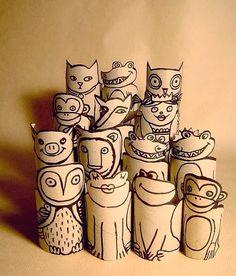 Tissue Roll Craft Ideas
