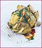 Falsone's Roasted Artichoke-Stuffed Artichokes