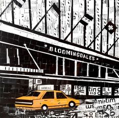 Memórias do Metrô - metro card collages - nina boesh