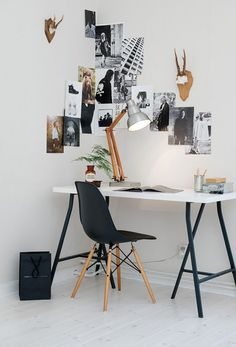 TheyAllHateUs | office decor, apartment office, office desk