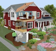 green building with chief architect home design software - Home Design Architect
