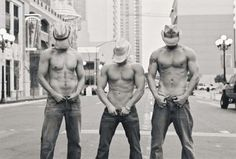 Not-so-country boys...on a city street (woh woh waaaahh).... But sexy none the less