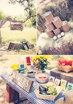 Vintage+County+Fair+First+Birthday+Party