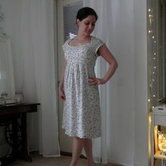 View details for the project Simplicity 1800 - cute summer dress on BurdaStyle.