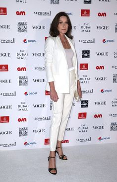 Carla Bruni-Sarkozy Photos - Vogue Fashion Dubai Experience 2015 - Gala Event Arrivals - Zimbio