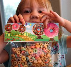 have elfs bring the dougnut seeds and next day have grown doughnuts a dozen seeds for a dozen ds