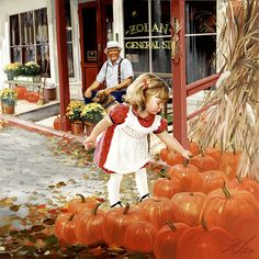 'Country Pumpkins' by Donald Zolan