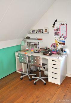 Binnenkijken in ... een stoere meisjeskamer in Den Bosch | STIJLIDEE Interieuradvies en Styling via www.stijlidee.nl