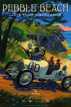 2012, Pebble Beach Tour d'Elegance #poster