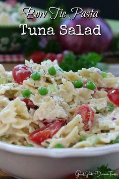 Bow Tie Pasta Tuna Salad from Great Grub, Delicious Treats