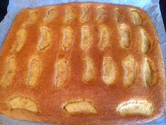 Lekker eten met Marlon: Noorse Appelcake - plaatcake met schijfjes appel