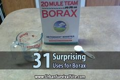 31 Surprising Uses for Borax