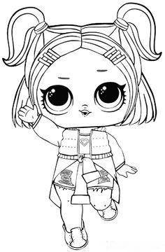 dusk lol doll coloring pages | unicorn.jpg 642×902 pixels - Раскраска lol | Pinterest ...