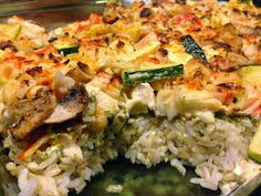 Whitney Loves to Eat: Seafood Sushi Bake