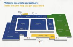 Cornelius Walmart store map. Just got back from the opening.