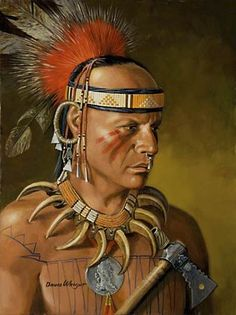 Ojibwa | by David Wright. A Native from Eastern Indian tribes, Canada and United States.