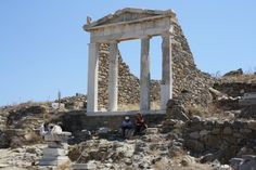 Temple of Isis, Delos, 2nd century BCE.