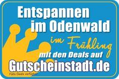 Entspannen im Odenwald im Frühling mit Gutscheinstadt #sparen #Urlaub #Familie #Ostern