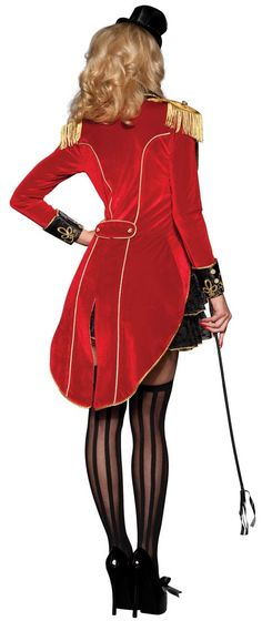 Big Top Tease Adult Costume - Circus Costumes