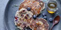 Buckwheat Blueberry Pancakes recipe