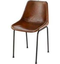 via BKLYN contessa :: rejuvenation :: leather schoolhouse chair
