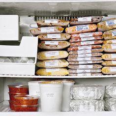 Tips and tricks for freezing meals