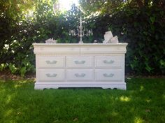 Classic cottage dresser~by cottage chic furniture.