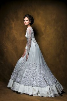 Pawan & Pranav Haute Couture An Indian twist to the traditional christian gown. https://www.facebook.com/pawanandpranav