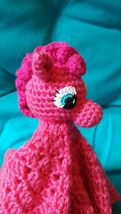 Love My Little Pony? This Pinky Pony Lovey is perfect!
