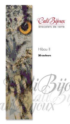 One drop Peyote stitch bracelet pattern. (PDF)    20 colors (Miyuki Delica beads 11/0)    4.6 cm x 18.3 cm  1.8 in x 7.2 in.  34 columns x 104 rows