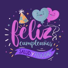 Letras con feliz cumpleaños vector gratu... | Free Vector #Freepik #freevector #cumpleanos
