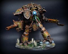 Warhammer 40k | Imperial Knights | Chaos Imperial Knight of Nurgle