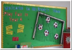 Soccer yellow and red card behavior explanation. I could do this with my green, yellow, and red tickets next year! I do love the idea of team work... And the soccer reference!