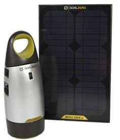 solar camping power pack