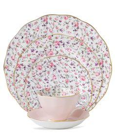 Royal Albert Dinnerware, Rose Confetti