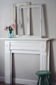 Mantle project and beautiful frames