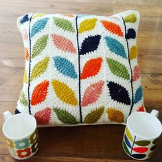 Find out all about the Orla Kiely inspired cushion I made!