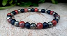 Check out this item in my Etsy shop https://www.etsy.com/listing/231261632/6-mm-mens-beaded-mala-jewelry-pyrite