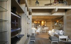 Chalet Razzie, Courchevel 1850, France.  Luxury ski chalet with sophisticated vibe from Firefly Collection. www.firefly-collection