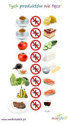 8 produktów których NIGDY NIE ŁĄCZYMY w zdrowej diecie ~   http://dietetyczniesiostro.blogspot.com/2013/04/8-produktow-ktorych-nigdy-nie-aczymy-w.html