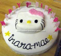 Coolest Hello Kitty 1st Birthday Cake Hello kitty Kitty and
