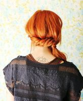 How To Style A Twisted Side Ponytail - A Beautiful Mess