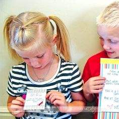 """""""Kid Date Night"""" Envelope #2- it's a scavenger hunt with all the printable clues!"""