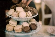 Macarons#sweet#yummy#chocolate#vanilla#
