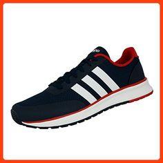 adidas Herren V Racer TM II Turnschuhe, Azul Marino / Blanco / Rojo (Maruni / Ftwbla / Rojpot), 39 1/3 EU (*Partner Link)