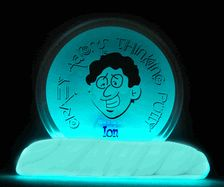 At MACkite: Crazy Aaron's Thinking Putty // Glow in the Dark // Ion